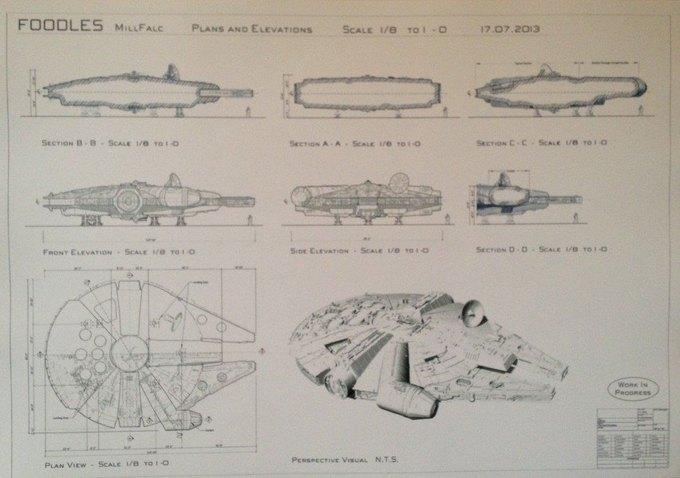 В Сеть выложили 32 концепт-арта для «Звёздных войн VII». Изображение № 30.