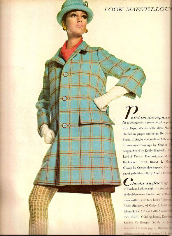 «Выгляди великолепно» каквVogue 1967 года. Изображение № 9.