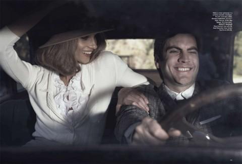 Бонни и Клайд в Harpers Bazaar. Изображение № 1.