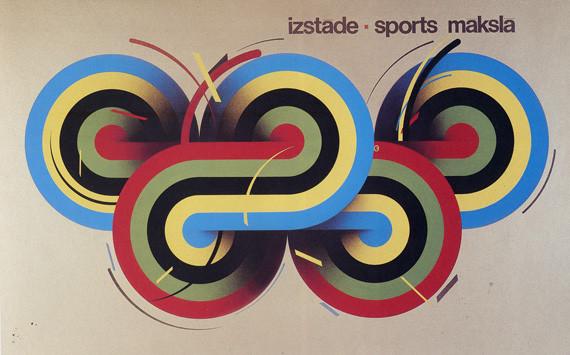 Пластическая экспрессия латышского плаката 70 – 80-егг. Изображение № 18.