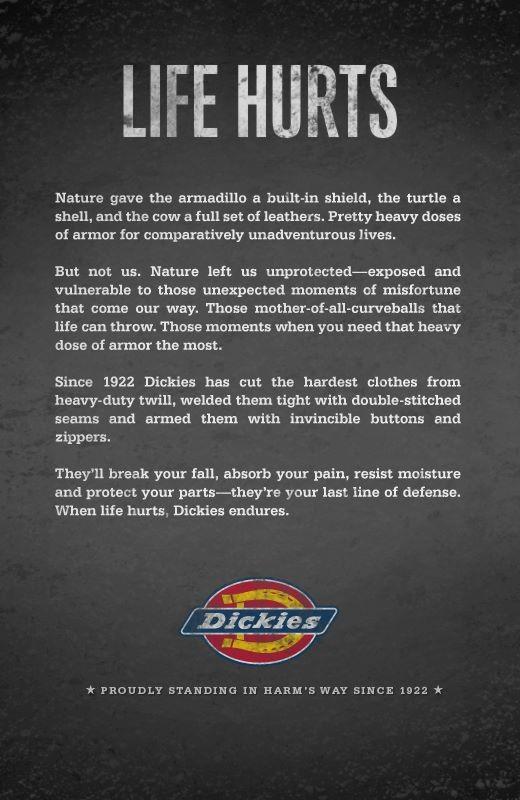 Новая рекламная кампания Dickies. Брюки 874 против Чарльза Дарвина. Изображение № 6.