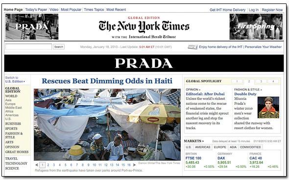Сайт New York Times станет платным. Изображение № 1.