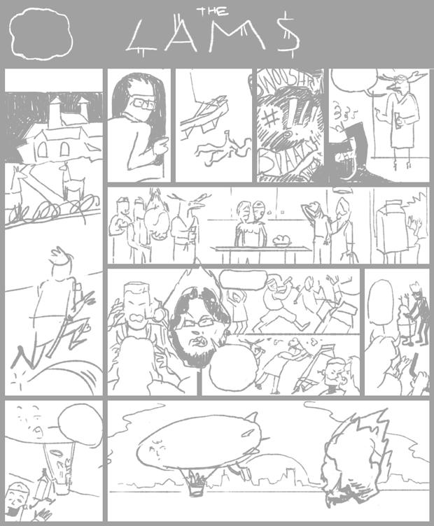 Как сделать комикс за неделю. Изображение № 20.