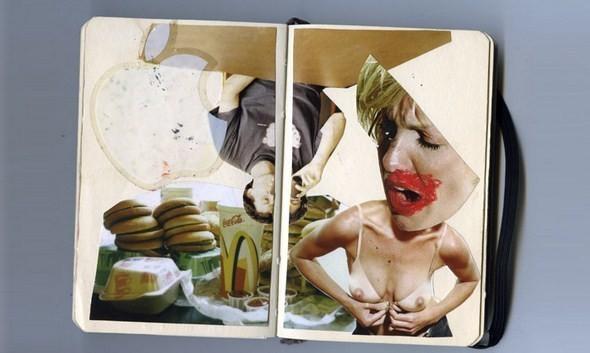 Изображение 18. Выставка: International Weird Collage Show.. Изображение № 18.