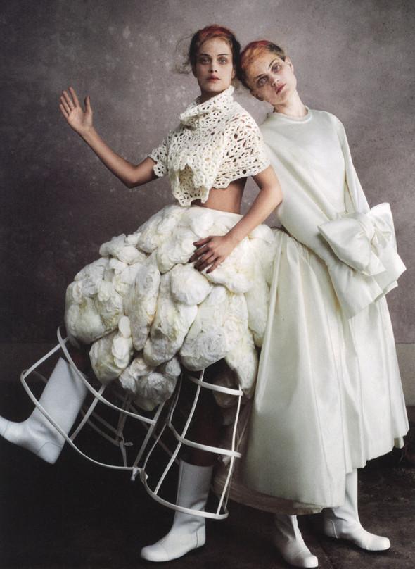 Съёмки: Elle, i-D и Vogue. Изображение № 13.