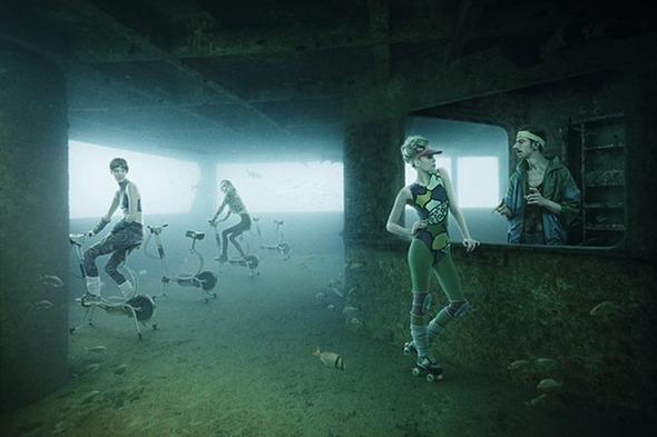 Подводная повседневная жизнь. Изображение №6.
