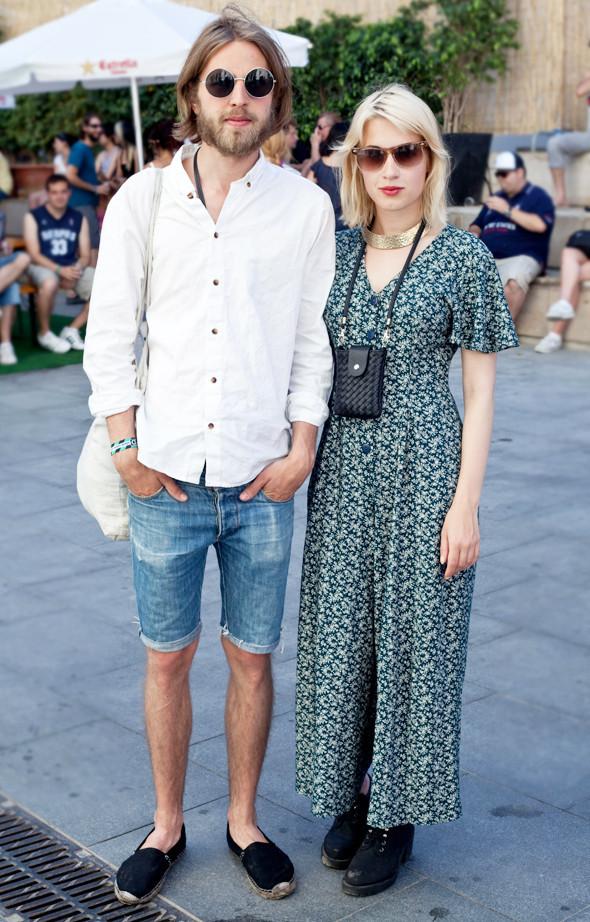 Пестрые рубашки и темные очки: Посетители фестиваля Sonar 2012. Изображение № 16.