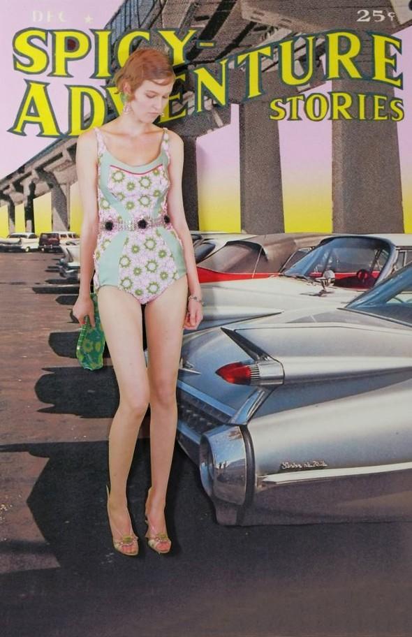 Лукбук: Prada Real Fantasies SS 2012. Изображение № 25.