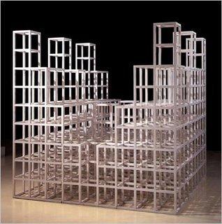 Скульптурные структуры Сола Левитта. Изображение № 7.
