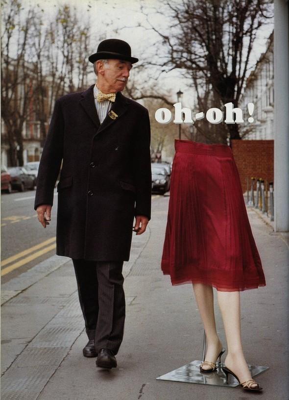 Архивная съёмка: Тим Уокер для итальянского Vogue за 2002 год. Изображение № 1.