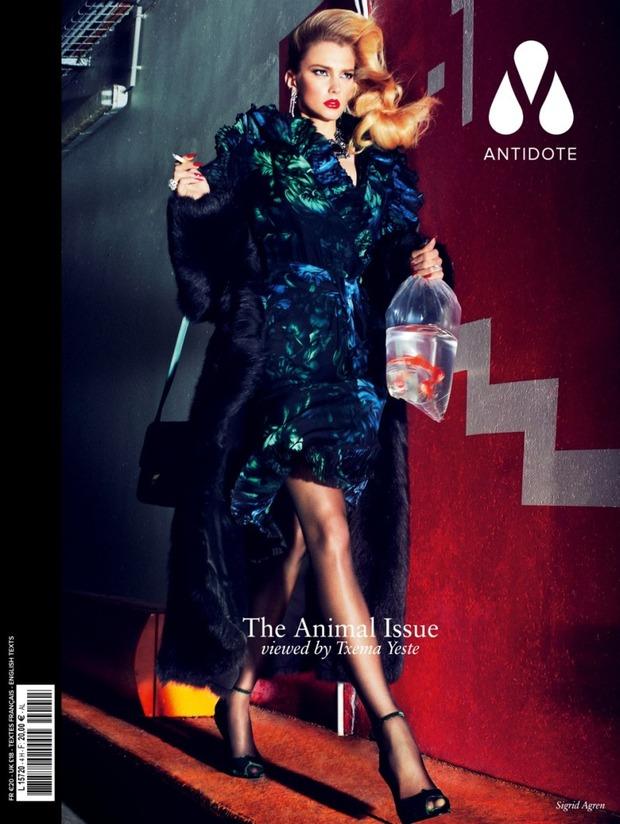 Вышли новые обложки Vogue, Numero, Interview и других журналов. Изображение № 7.