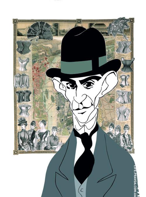 Карикатуры на писателей. Изображение № 57.