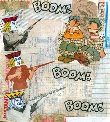 Изображение 50. Выставка: International Weird Collage Show.. Изображение № 50.