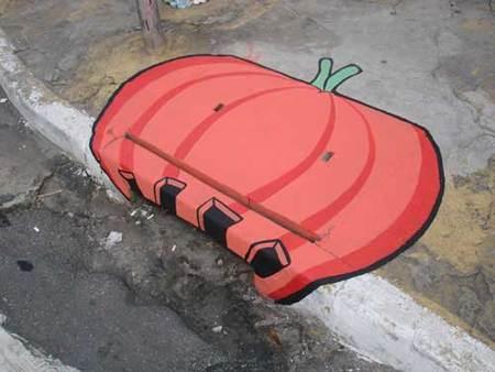 Уличные художники Сан-Пауло делают город веселее. Изображение № 9.