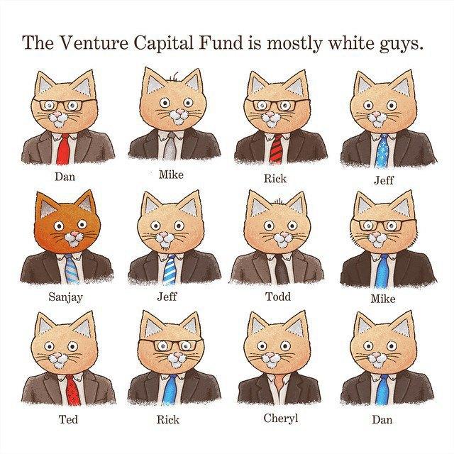 «Венчурный капиталист в основном инвестирует белых парней». Изображение № 15.