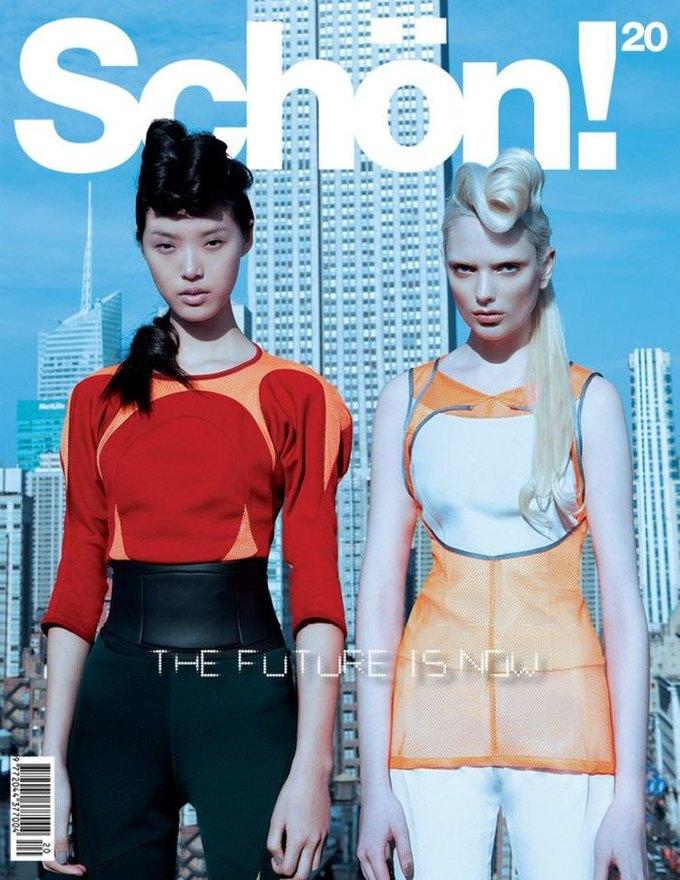Вышли новые обложки Interview, Numero и Pop. Изображение № 19.