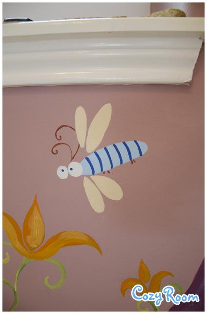 Детская комната по мотивам мультфильма «Рапунцель. Запутанная история». Изображение № 9.