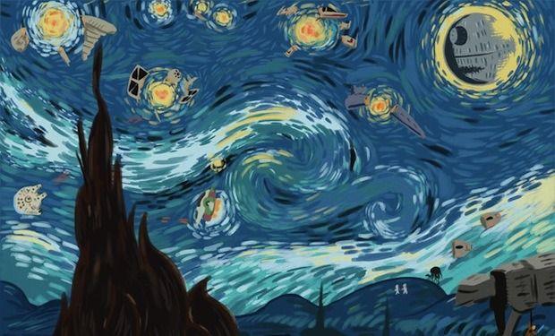 Винсент Ван Гог x «Звeздные войны». Изображение №2.