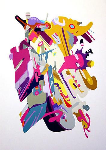 Точка, точка, запятая: 10 современных абстракционистов. Изображение № 86.
