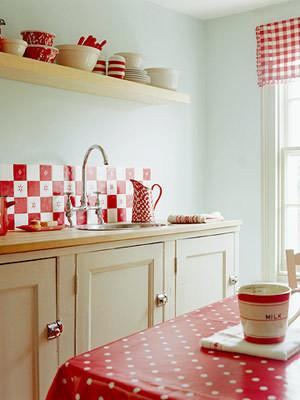 Изображение 8. Модный красный или яркое решение для кухни.. Изображение № 11.