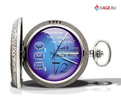 Карманные часы нового поколения. Изображение № 2.