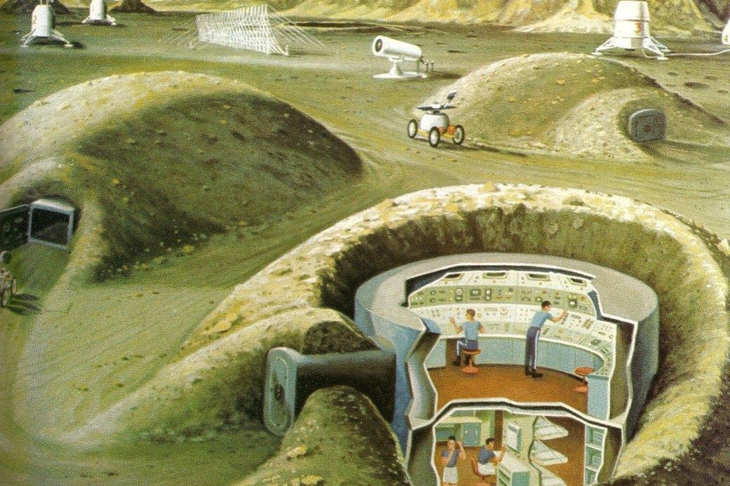 Как представляли колонию на Луне в 1969-м. Изображение № 4.