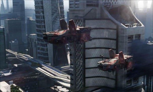 Дизайнеры показали процесс создания городов из «Стартрека». Изображение № 4.