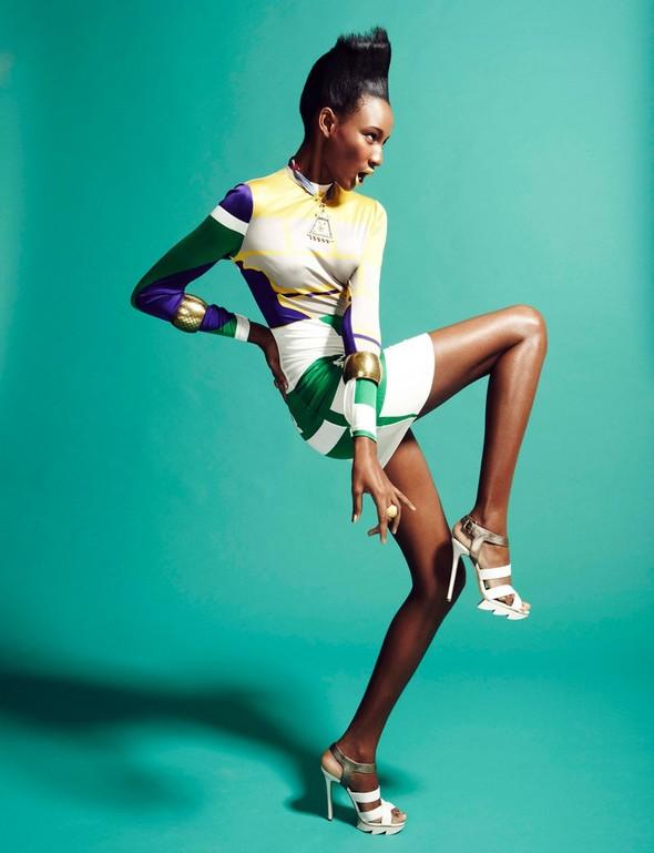 Съёмка: Шена Малтон для Playing Fashion. Изображение № 5.