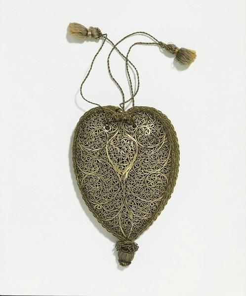 Серебряная сумочка 18-19 век. Изображение № 6.