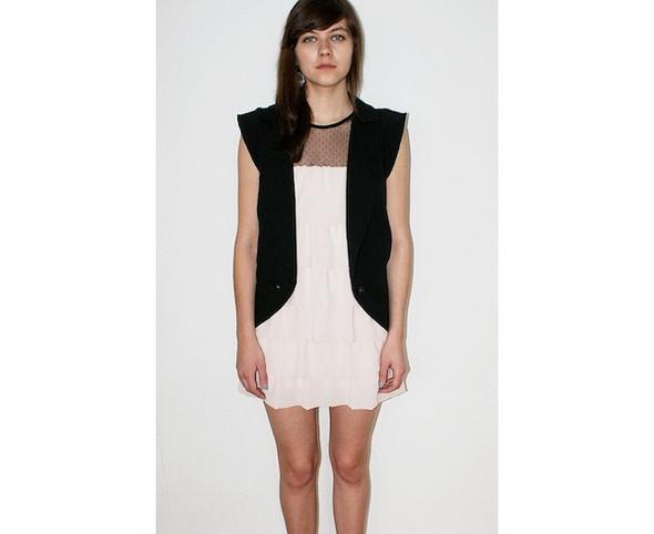Платье Strogo_nestrogo, 2400 руб. Жилет ASHE, 2800 руб.. Изображение № 36.