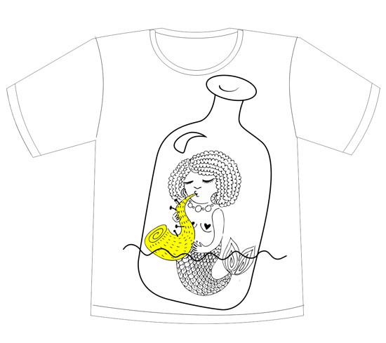 Изображение 41. Кастинг принтов для футболок SEKTA: Koktebel Jazz Fest.. Изображение № 45.