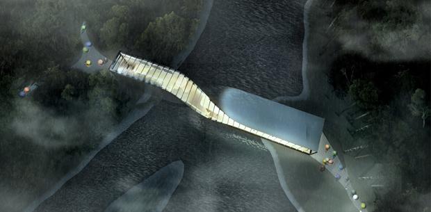 Архитектура дня: «перекрученный» музей авторства BIG под Осло. Изображение № 4.