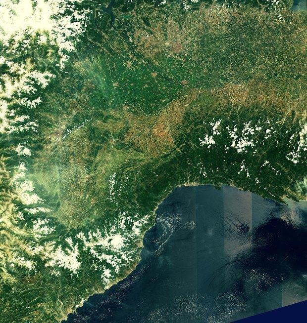 Северо-запад Италии и юг Франции. Изображение № 4.