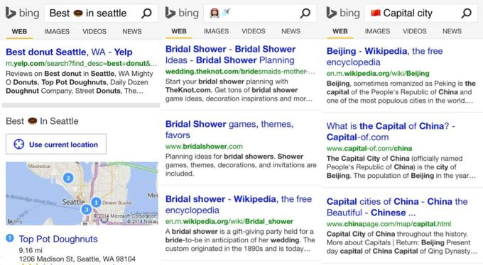 Bing начал искать c помощью эмодзи. Изображение № 3.
