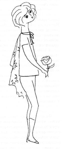 Надя Рушева. Маленькая принцесса. Изображение № 8.