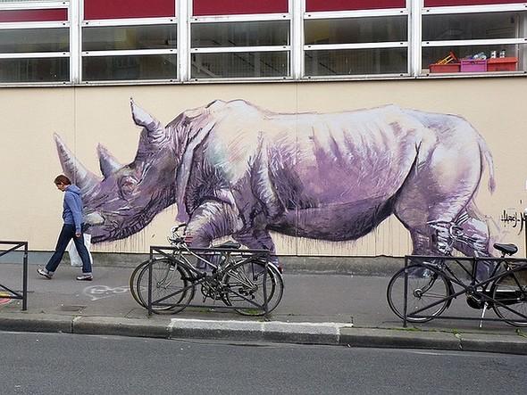 Стрит-арт в Париже. Изображение № 38.