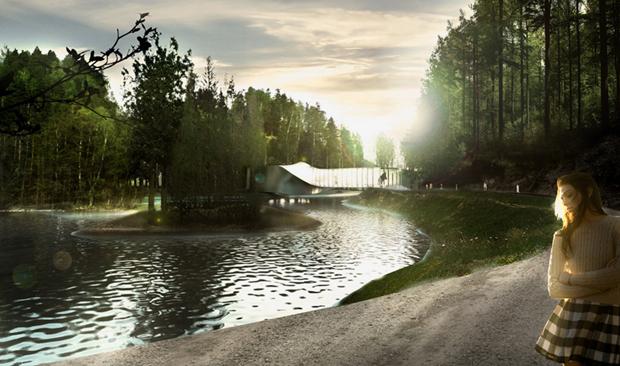 Архитектура дня: «перекрученный» музей авторства BIG под Осло. Изображение № 3.