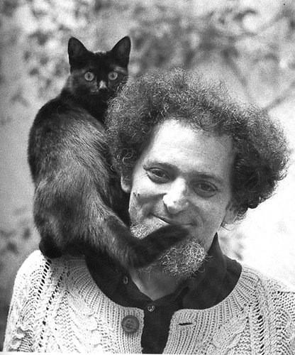 Знаменитые писатели и котики. Изображение № 15.