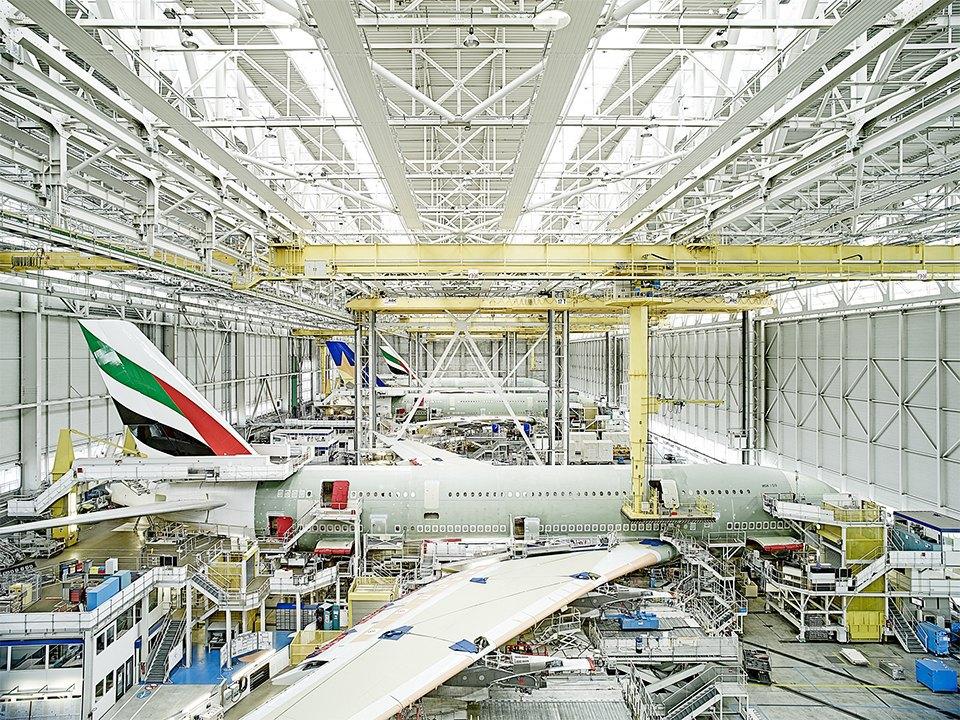 Фото: как собирают самолёты Airbus. Изображение № 2.