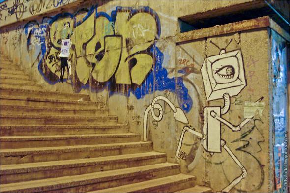 Стрит-арт и граффити Братиславы, Словакия. Изображение № 19.