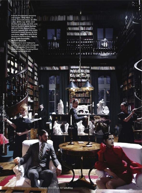 Съёмка: Карл Лагерфельд для Harper's Bazaar. Изображение № 10.