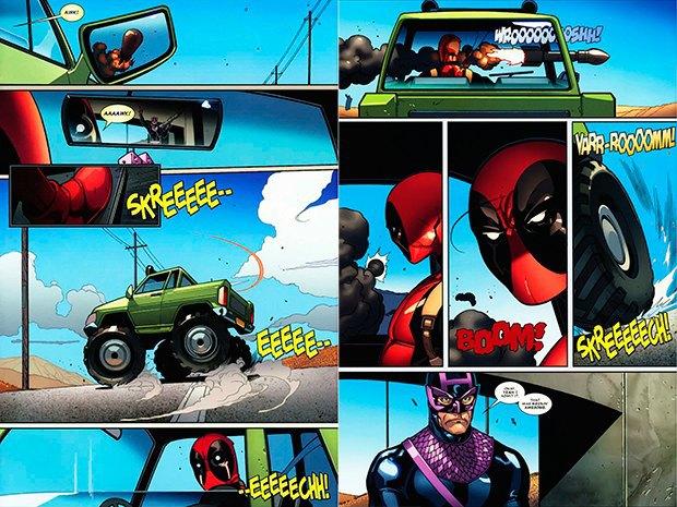 7 лучших экшен-комиксов. Изображение № 14.