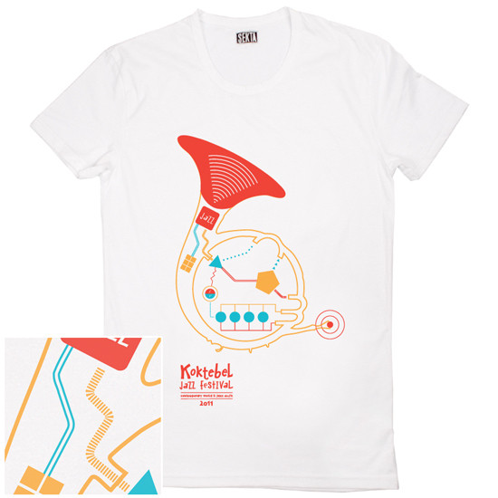 Изображение 65. Кастинг принтов для футболок SEKTA: Koktebel Jazz Fest.. Изображение № 65.