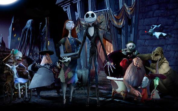 Разнообразие обитателей городка Хеллоуин. «Кошмар перед Рождеством» 1993. Изображение №48.