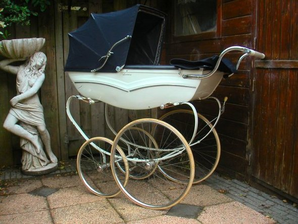 Ретро – kinderwagen, stroller илидетская коляска. Изображение №23.
