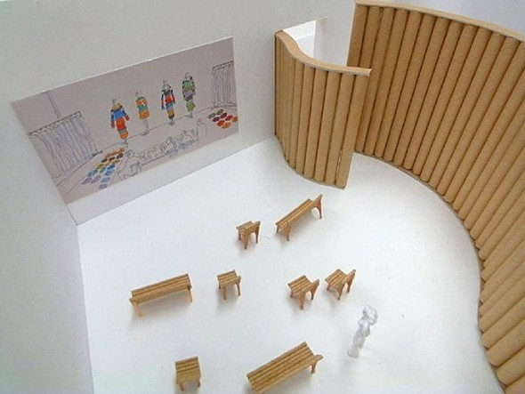 Макет выставочного пространства. Изображение № 35.