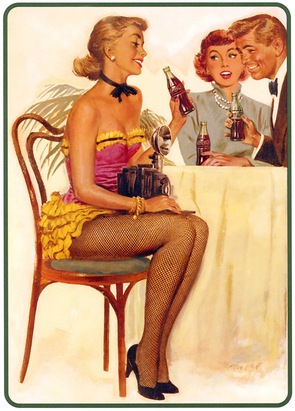 Рекламные плакаты coca-cola. Изображение № 19.