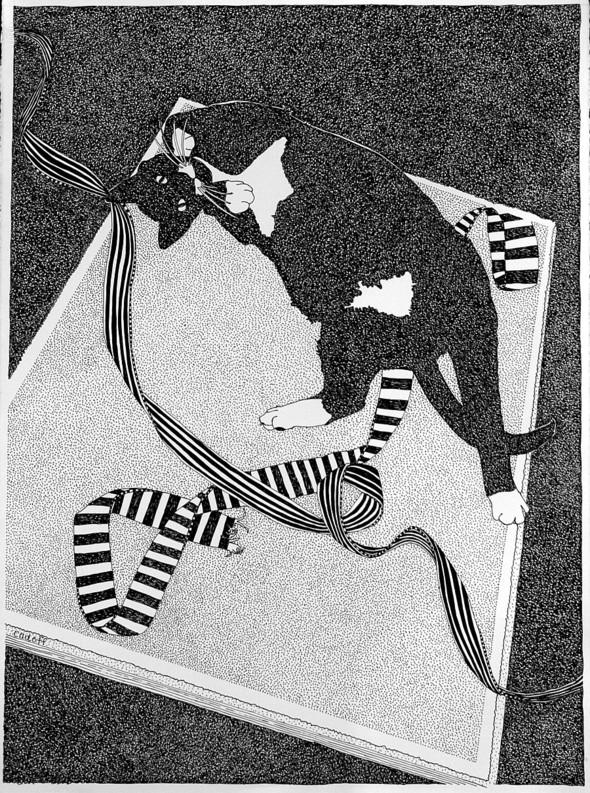 В пространстве рисунка: четыре художника. Изображение № 11.