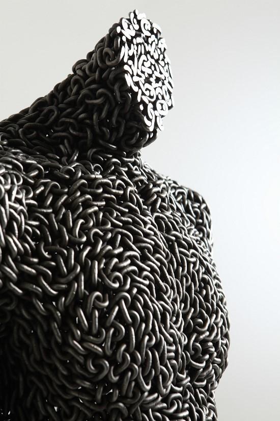 Скульптуры из цепей от Yeong-Deok Seo. Изображение № 14.