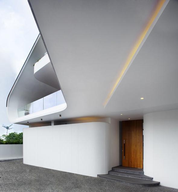 «Трехпалубная» вилла от Aamer Architects. Изображение № 10.